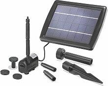 Système de pompe solaire - pompe de bassin Esotec