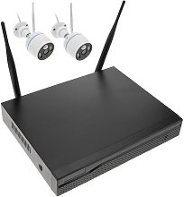 Système de vidéo surveillance NVR avec 2