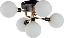 SYXBB Plafonnier LED Moderne Blanche Abat-Jour