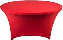 SZBLYY Nappe Ronde Nappe Stretch Table Ronde Toile