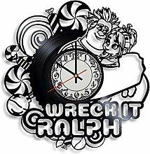 szhao Horloge Murale en Vinyle