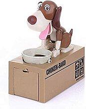 SZHWLKJ My Dog Tirelire Banque Automatique Banque