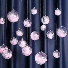 Sziqiqi 20 Pcs Boule de Noël Transparente a