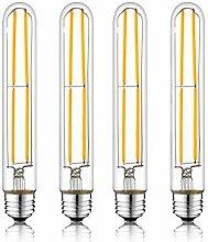 T30 185mm 6W Vintage Dimmable LED Ampoules à