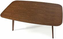 Table 160 cm FINKA Bois Noyer - Noyer