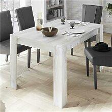 Table 180 cm contemporaine couleur pin SERENA 3