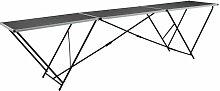 Table à coller pliable MDF et aluminium 300 x 60