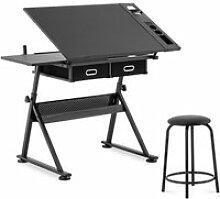 Table à dessin bureau inclinable et réglable en