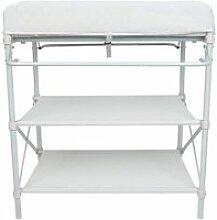 Table à langer confortable hombuy 74 * 48 * 90cm