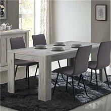 Table a manger 170 cm couleur chêne rustique