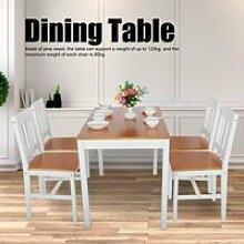 Table à manger + 4 Chaises de Salle à Manger