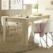 Table à manger contemporaine couleur bois clair