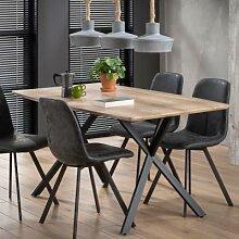 Table à manger couleur bois MARGO