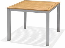 Table à Manger de Jardin Imperia Bois Aluminium