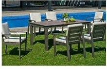 Table à manger de jardin sarana e220 pour 8