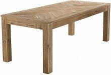 Table à manger en pin recyclé 200 x 90 cm - Jack