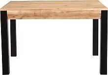 Table à manger extensible en acacia massif et
