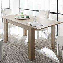 Table à manger extensible rectangulaire chêne