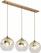 Table à manger moderne Lampe suspension, 3 Verre