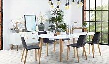 Table à manger ovale extensible - Iguita