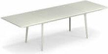 Table à rallonge Plus4 / Acier - 160 à 270 cm -