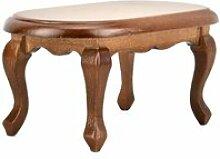 Table à thé Mini Bureau En Bois Modèle 1:12