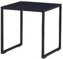 Table auxiliaire de jardin en aluminium couleur