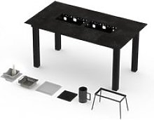 Table barbecue haute garrigue pro 8-10 personnes -