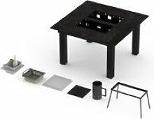 Table barbecue intégré garrigue pro 6-8