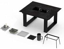 Table barbecue intégré vulcano 4-6 personnes -
