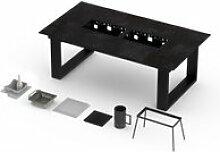 Table barbecue intégré vulcano 8-10 personnes -