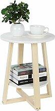 Table Basse à 2 Niveaux, Petites Tables Basses,