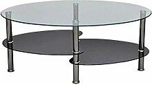 Table Basse avec Cadre Métallique, Table