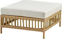 Table basse carrée pour canapé modulable