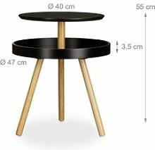 Table basse d'appoint ronde console diamètre