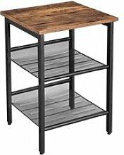 Table basse d'appoint table de chevet avec 2