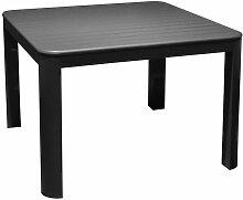 Table basse de jardin en aluminium Eos - Gris