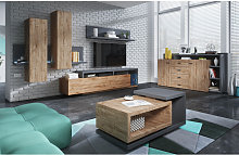 Table basse design, rectangulaire, Gamme evo