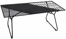 Table basse en métal noir art de fer