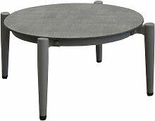 Table basse jardin rétro en aluminium 72 cm