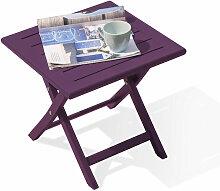 TABLE BASSE MARIUS AUBERGINE - Citygarden