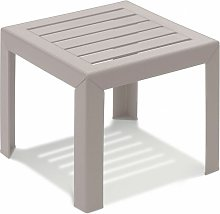 TABLE BASSE MIAMI 40X40X35 coloris lin - lin