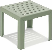 TABLE BASSE MIAMI 40X40X35 coloris vert tender -