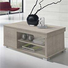 Table basse modulable couleur bois clair AUDE