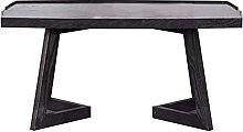Table basse rectangulaire en bois pour le salon et