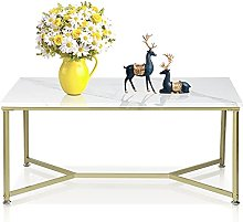 Table Basse rectangulaire Moderne Style Glamour