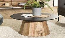 Table basse ronde 90 cm pin recyclé et