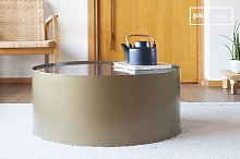 Table basse ronde en marbre Dickinson