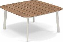 Table basse SHINE de Emu, Blanc mat