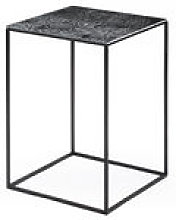 Table basse Slim Irony Art / 31 x 31 x H 46 cm -
